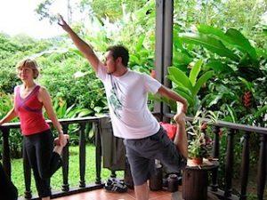 Alan Practicing in Costa Rica
