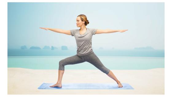 Joyful Heart Yoga Warrior II